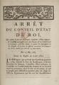 Arrêt du Conseil d'Etat du Roi nomme Bollongne 15 mai 1785 01.png