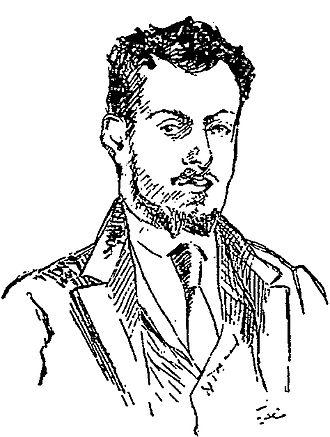 Arthur Bernède - Arthur Bernède Portrait by Frédéric-Auguste Cazals