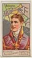 Arthur Wellesley, 1st Duke of Wellington, from the Great Generals series (N15) for Allen & Ginter Cigarettes Brands MET DP834806.jpg