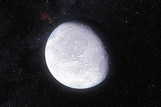 Eris (dwarf planet) - Image: Artist's impression dwarf planet Eris