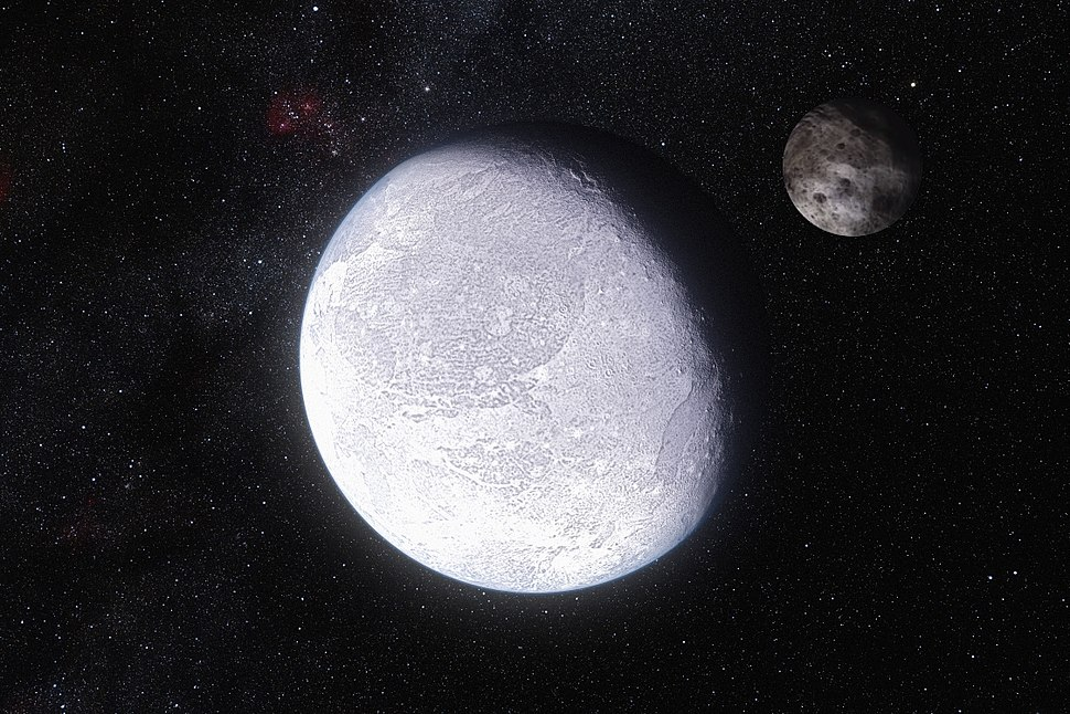 Artist%27s impression dwarf planet Eris