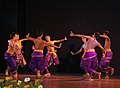 Artists performing regional traditional dance at the inaugural ceremony of the 40th International Film Festival (IFFI-2009), at Kala Academy, in Panaji, Goa on November 23, 2009.jpg