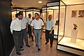 Arun Goel With NCSM Dignitaries Visit Objects In CRTL Archive Exhibition - NCSM - Kolkata 2018-09-23 4458.JPG