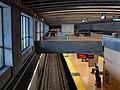 Ashby station from mezzanine, December 2010.jpg