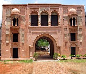 Naib Nazim of Dhaka - The surviving gateway of Nimtali Kuthi, the last residence of the Naib Nazims of Dhaka
