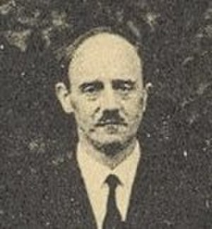 Lucien Berland - L. Berland at the International Congress of Entomology in Madrid, 1935