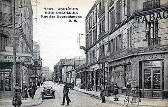 Bois-Colombes - Rue des Bourguignons