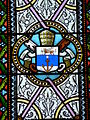Assais-les-Jumeaux église Jumeaux vitraux choeur armoiries.JPG