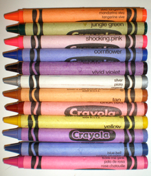 List of Crayola crayon colors - Wikipedia, the free encyclopedia