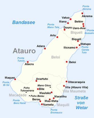 Atauro Island - Image: Atauro posto administrativo