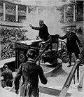 Attentat von Vaillant, Zeichnung auf dem Titelblatt des Petit Parisien