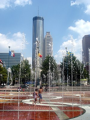 Fountain of Rings at Centennial Olympic Park