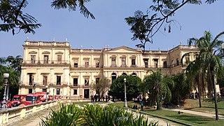Paço de São Cristóvão palace in Rio de Janeiro