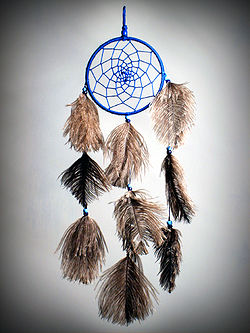Ojibwa dream catcher.