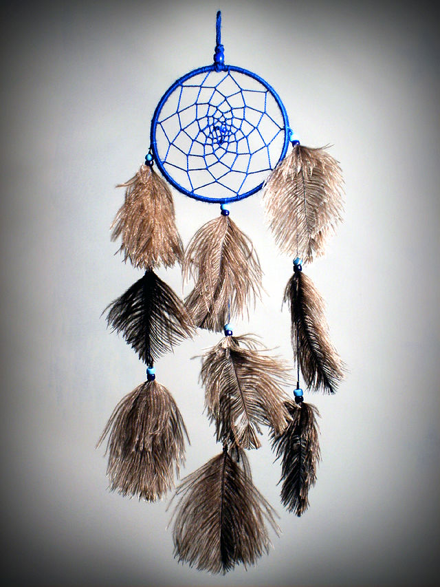 Dreamcatcher Wikiwand Enchanting Ojibwe Dream Catcher