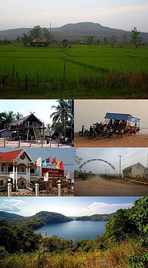 Attapeu Province - Image: Attapeu montage