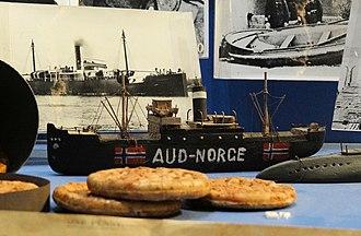 SS Libau - Image: Aud Smuggling Boat Model Cork