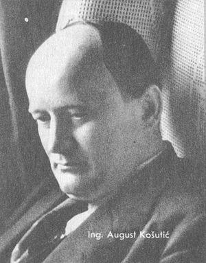 Lorković–Vokić plot - August Košutić, Vice President of the HSS