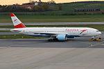 Austrian Airlines, OE-LPC, Boeing 777-2Z9 ER (22441749123).jpg