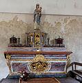 Autel dans la nef de la chapelle Notre-Dame-de-bon-secours, Gatteville-le-Phare, France.jpg