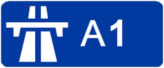 A1 autoroute - Image: Autoroute A1