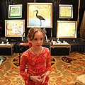 Autumn De Forest at auction of her work.jpg