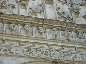 Auxon, Aube - Detail on the Church of Saint-Loup-de-Sens