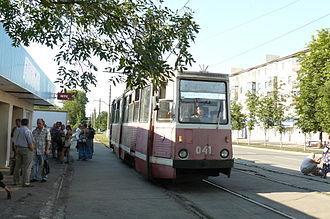 Avdiivka - Image: Avdijivka trams juni 2012 (13)