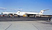 Avro Vulcan & Handley Page Victor nuclear bombers at the 1964 Richmond Air Show, NSW