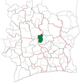 Béoumi Department Department in Vallée du Bandama, Ivory Coast