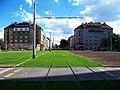 Bývalá smyčka Podbaba, nová trať (01).jpg