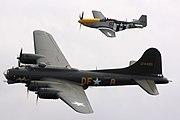 B17 & P51 - Duxford August 2009 (3843937982)