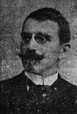 "Портретна снимка на Цветан Радославов, 1912 г. Източник: ДА ""Архиви"""