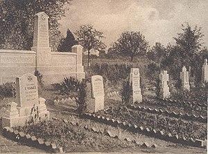 Battle of Belleau Wood - German Cemetery in Beaulieu-Ecuvilly.