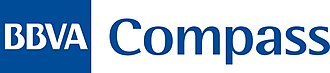 Banco Bilbao Vizcaya Argentaria - BBVA Compass logo.