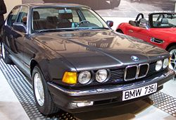 BMW E32 735i Narrow Grille