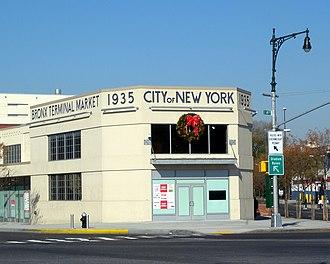 Bronx Terminal Market - The renovated Prow Building, south end of the original Bronx Terminal Market