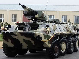 BTR-70 - Azerbaijani modernised BTR-70
