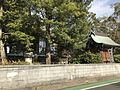 Back view of Sannomiya Shrine near Hatae Station 2.jpg