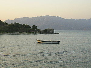 Lake Bafa Nature Park - Image: Bafa lake 2