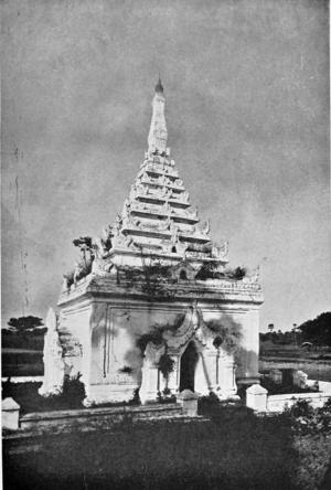 Bagyidaw - Bagyidaw's tomb in Amarapura.