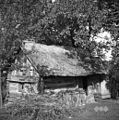 Bajta- svoj čas vinski hram (sedaj v bajti delavnica), Bakše Jože, Cerov Log 38 (Kira) 1952.jpg