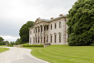 Coote baronets - Ballyfin House, built by the 9th Baronet in the 1820s, now a luxury hotel