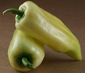 Bhaji - Image: Banana Peppers