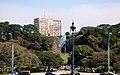 Bandera sobre la plaza general San Martin - panoramio.jpg