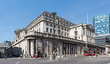 The main Bank of England facade Bank of England Building, London, UK - Diliff.jpg