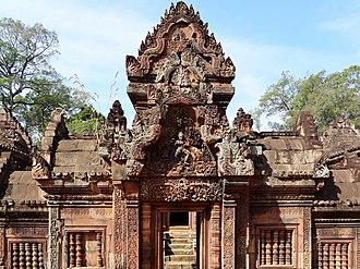 Siem Reap Province - Image: Banteay Srei 26a