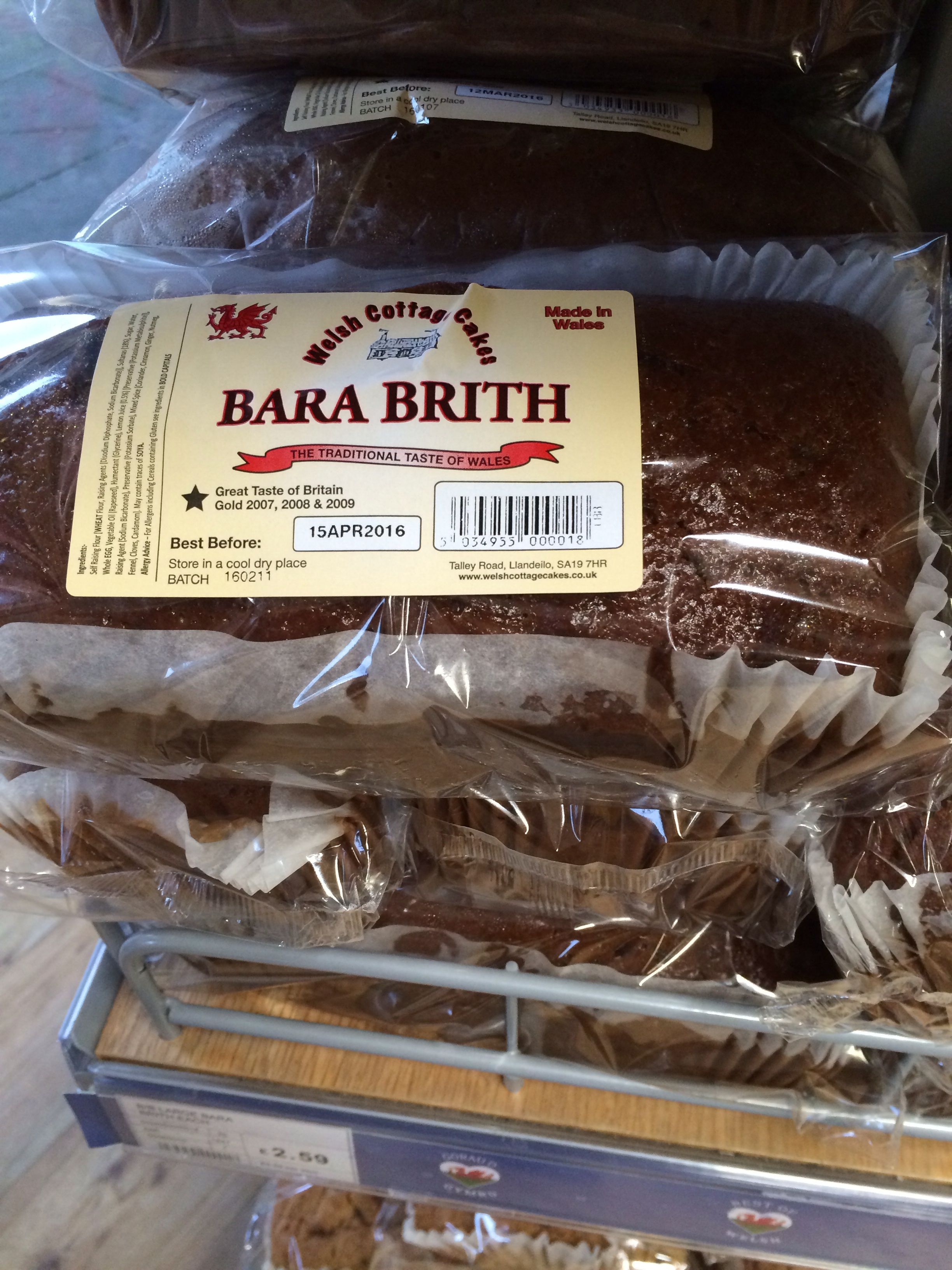File Bara Brith Cake Produced By Welsh Cottage Cakes Jpg Wikimedia Commons