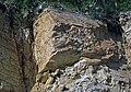 Baraboo Quartzite (upper Paleoproterozoic, ~1.7 Ga; Rt. 12 roadcut, South Range, Baraboo Ranges, Wisconsin, USA) 7 (18810885371).jpg