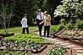 Barack Obama and Chancellor Angela Merkel tour the White House Kitchen Garden, 2014.jpg
